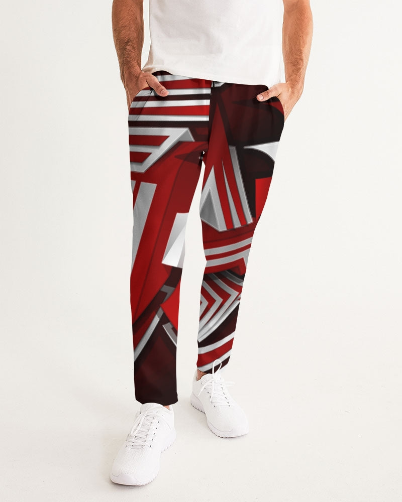 EXCLUSIVE 2019: KING DROP: Red and White Colorway   Men's Joggers