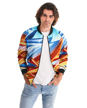 Load image into Gallery viewer, King Zoom ZigZag Men's Bomber Jacket