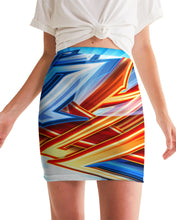 Load image into Gallery viewer, King Zoom ZigZag Women's Mini Skirt