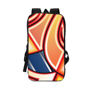 Maya Orange Colorway Slim Tech Backpack