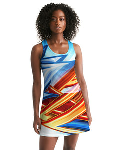 King Zoom ZigZag Women's Racerback Dress