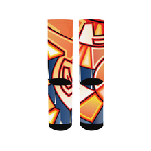 Load image into Gallery viewer, Maya Orange Colorway Men's Socks