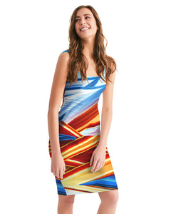 King Zoom ZigZag Women's Midi Bodycon Dress