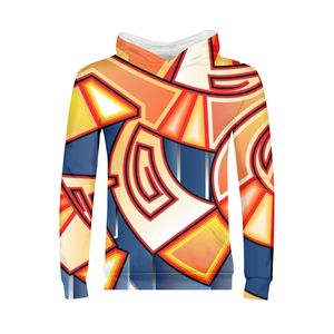 Maya Orange Colorway Kids Hoodie
