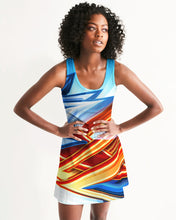 Load image into Gallery viewer, King Zoom ZigZag Women's Racerback Dress