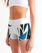 Load image into Gallery viewer, Wildstyle Decade Women's Mid-Rise Yoga Shorts