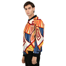 Load image into Gallery viewer, Maya Orange Colorway Men's Bomber Jacket