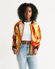 Load image into Gallery viewer, Zoom FIre Women's Bomber Jacket