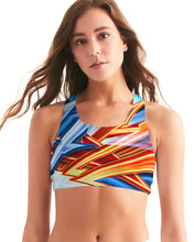 Load image into Gallery viewer, King Zoom ZigZag Women's Seamless Sports Bra