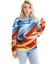 Load image into Gallery viewer, King Zoom ZigZag Women's Hoodie