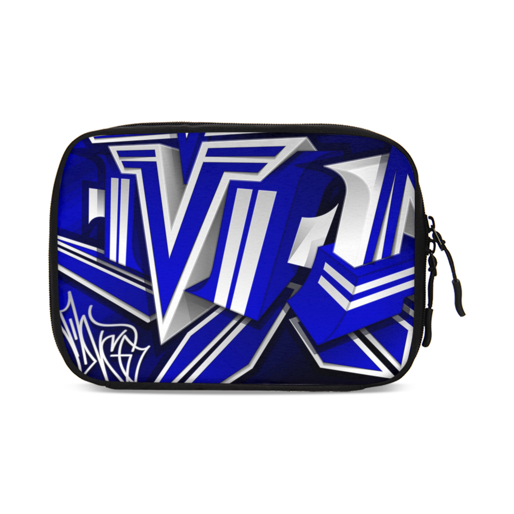 KING ZOOM EXCLUSIVE 2019 DROP: Blue and White Colorway Large Travel Organizer