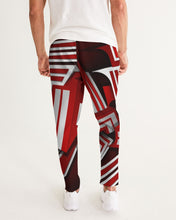 Load image into Gallery viewer, EXCLUSIVE 2019: KING DROP: Red and White Colorway   Men's Joggers