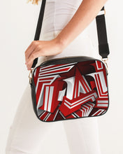 Load image into Gallery viewer, EXCLUSIVE 2019: KING DROP: Red and White Colorway Crossbody Bag