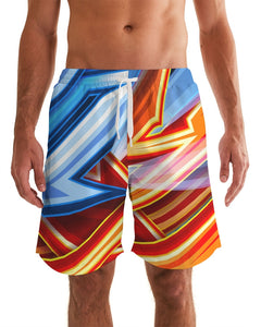 King Zoom ZigZag Men's Swim Trunk