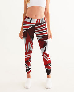 EXCLUSIVE 2019: KING DROP: Red and White Colorway Women's Yoga Pant