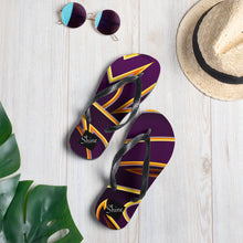 Load image into Gallery viewer, Daily Shine/Freestyle Purple Colorway: Flip-Flops