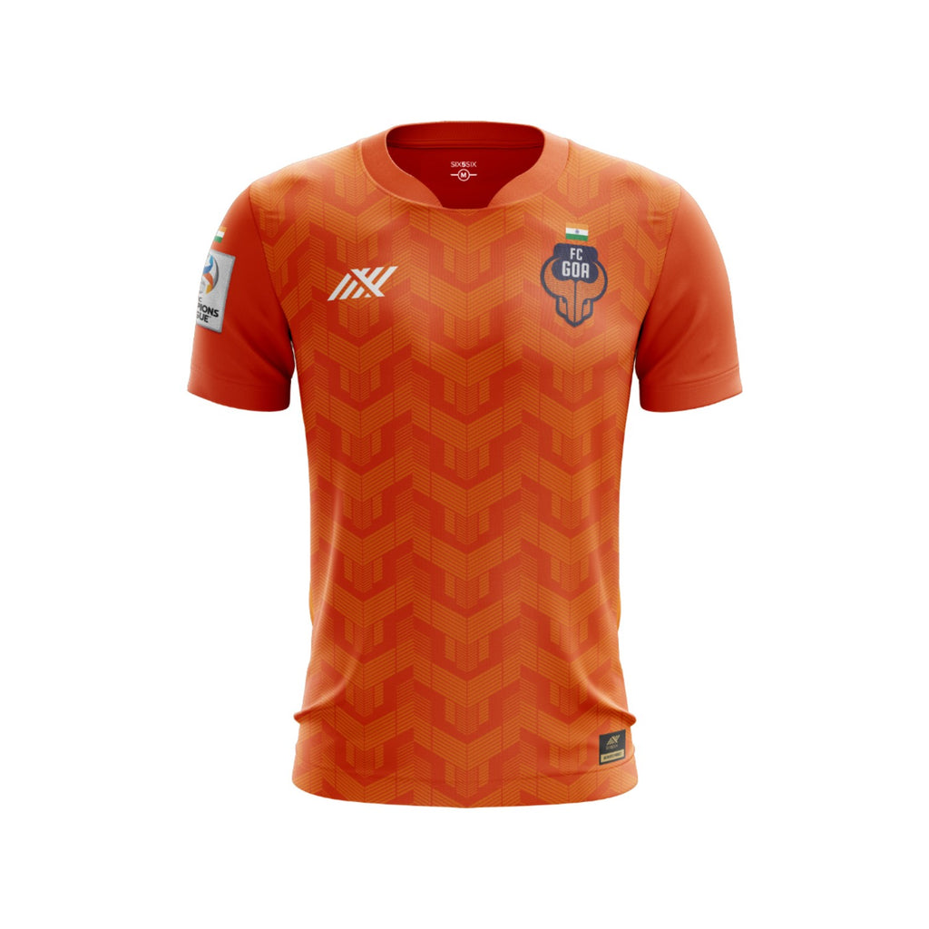 FC Goa Unleashed Home Jersey: Champions League Edition