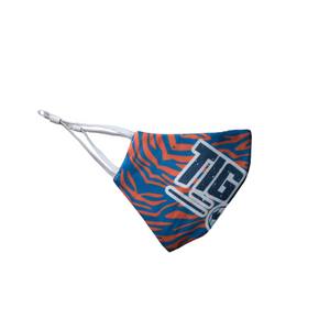 Blue Tigers Stripes Mask