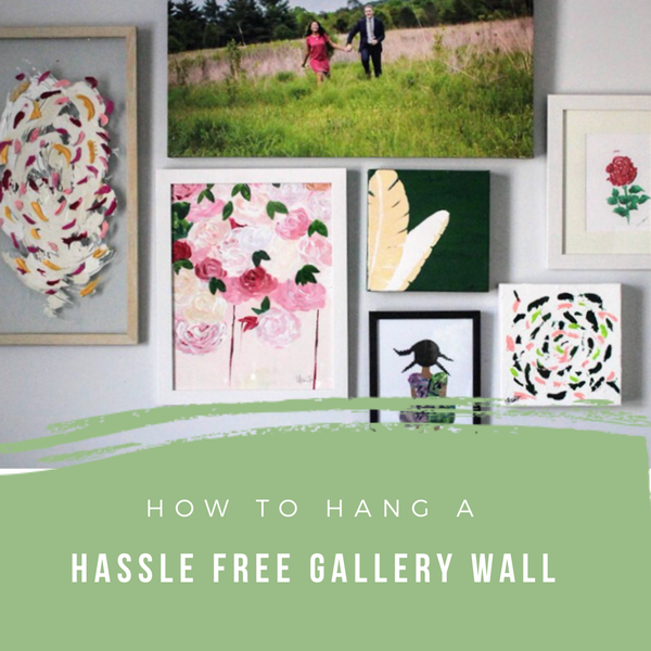 How To Hang A Hassle Free Gallery Wall