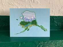 Load image into Gallery viewer, Alaska Greeting Card