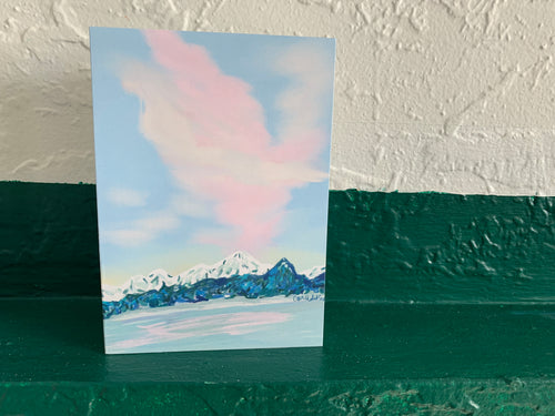 Cotton Candy Sky Card