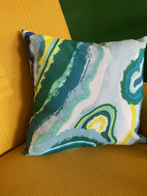 Load image into Gallery viewer, Geode Print Pillow