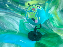 Load image into Gallery viewer, Small Teal Globe