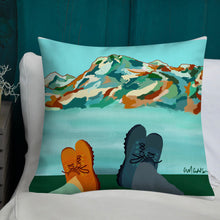 "Load image into Gallery viewer, ""This View With You"" Print Pillow"