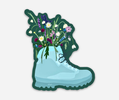Alaska Boot Stickers