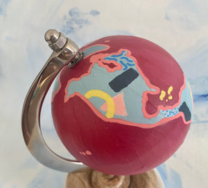 Extra Small Pink Globe