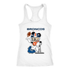 NFL – Denver Broncos Mickey Mouse Super Bowl Football Shirt-T-shirt-Next Level Racerback Tank-White-XS-Itees Global