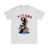 NFL – Tennessee Titans Venom Groot Guardian Of The Galaxy Football Shirts-T-shirt-Gildan Womens T-Shirt-White-S-PopsSpot