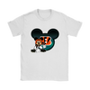 NFL – Cincinnati Bengals Mickey Mouse Football Shirts-T-shirt-Gildan Womens T-Shirt-White-S-PopsSpot