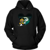 NFL – Green Bay Packers Mickey Mouse Football Shirt-T-shirt-Unisex Hoodie-Black-S-Itees Global