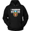 NFL - I Married Into This Chicago Bears Football Sweatshirt-T-shirt-Unisex Hoodie-Black-S-PopsSpot