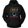 NFL - Carolina Panthers Christmas Grateful Dead Jingle Bears Football Ugly Sweatshirt-T-shirt-Unisex Hoodie-Black-S-PopsSpot