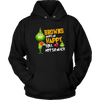 NFL – Cleveland Browns Makes Me Happy You Not So Much The Grinch Football Sweatshirt-T-shirt-Unisex Hoodie-Black-S-Itees Global