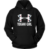 NFL – Houston Texans Girl Under Armour Football Shirt-T-shirt-Unisex Hoodie-Black-S-Itees Global