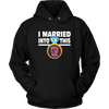 NFL - I Married Into This Houston Texans Football Sweatshirt-T-shirt-Unisex Hoodie-Black-S-Itees Global