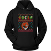 NFL - Cleveland Browns Christmas Grateful Dead Jingle Bears Football Ugly Sweatshirt-T-shirt-Unisex Hoodie-Black-S-Itees Global