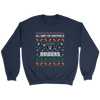 NFL - All I Want For Christmas Is Oakland Raiders Football Shirts-T-shirt-Crewneck Sweatshirt-Navy-S-Itees Global