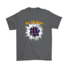NFL – Awesome New York Giants Football Shirts-T-shirt-Gildan Mens T-Shirt-Charcoal-S-Itees Global