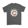 NFL – Awesome Chicago Bears Football Shirts-T-shirt-Gildan Mens T-Shirt-Charcoal-S-PopsSpot