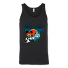 NFL – Cleveland Browns Mickey Mouse Football Shirts-T-shirt-Canvas Unisex Tank-Black-S-Itees Global