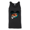 NFL – Cincinnati Bengals Mickey Mouse Football Shirts-T-shirt-Canvas Unisex Tank-Black-S-PopsSpot