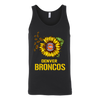 NFL - Denver Broncos Sunflower Football NFL Shirts-T-shirt-Canvas Unisex Tank-Black-S-Itees Global