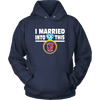 NFL - I Married Into This Houston Texans Football Sweatshirt-T-shirt-Unisex Hoodie-Navy-S-Itees Global