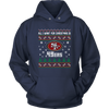 NFL - All I Want For Christmas Is San Francisco 49ers Football Shirts-T-shirt-Unisex Hoodie-Navy-S-PopsSpot