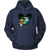 NFL – Green Bay Packers Mickey Mouse Football Shirt-T-shirt-Unisex Hoodie-Navy-S-Itees Global