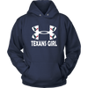 NFL – Houston Texans Girl Under Armour Football Shirt-T-shirt-Unisex Hoodie-Navy-S-Itees Global